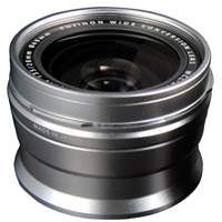 New Fujifilm WCL-X100 WideAngle Conversion Lens Silver