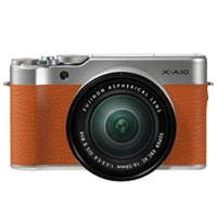 New Fujifilm X-A10 Kit (16-50mm) Digital Camera Brown