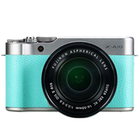 New Fujifilm X-A10 Kit (16-50mm) Digital Camera Lime