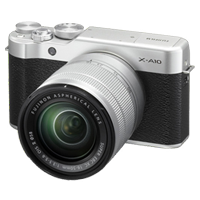 New Fujifilm X-A10 Kit (16-50mm) Digital Camera Silver