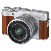 New Fujifilm X-A5 Kit (15-45mm) Digital Camera Brown