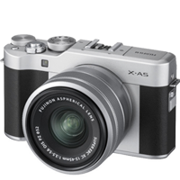 New Fujifilm X-A5 Kit (15-45mm) Digital Camera Silver