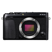 New Fujifilm X-E3 24MP Body Black