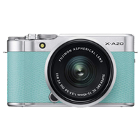 New Fujifilm X-A20 16MP (15-45) Kit Green