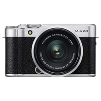 New Fujifilm X-A20 16MP (15-45) Kit Silver