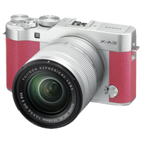 New Fujifilm X-A3 Kit (16-50mm) Digital Camera Pink
