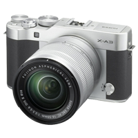 New Fujifilm X-A3 Kit (16-50mm) Digital Camera Silver