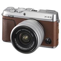 New Fujifilm X-E3 24MP (15-45) Kit Brown