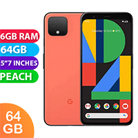 Used as Demo Google Pixel 4 64GB Peach (6 MONTHS WARRANTY + 100% GENUINE)