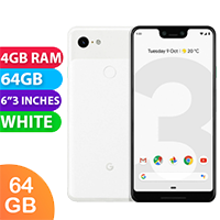Used as Demo Google Pixel 3XL 64GB White (6 MONTHS WARRANTY + 100% GENUINE)