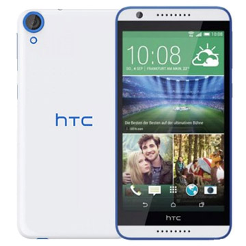 HTC Desire 820S Dual SIM 16GB 4G LTE Smartphone White Blue Refurbished (1 YEAR NEW ZEALAND WARRANTY)