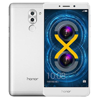 Huawei Honor 6X Dual SIM 32GB Smartphone Silver Refurbished (1 YEAR NEW ZEALAND WARRANTY)