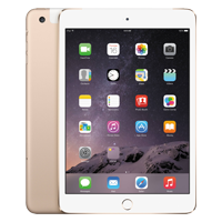 Used as Demo Apple iPad Mini 3 64GB Wifi Tablet Gold (6 month warranty + 100% Genuine)