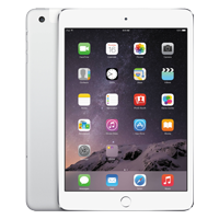 Used as Demo Apple iPad Mini 3 16GB Wifi Tablet Silver (6 month warranty + 100% Genuine)