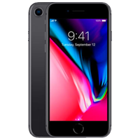 New Apple iPhone 8 64GB 4G LTE Black (1 YEAR NEW ZEALAND WARRANTY)