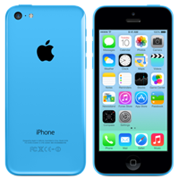 Used as Demo Apple iPhone 5c 16GB LTE 4G Blue (6 month warranty)