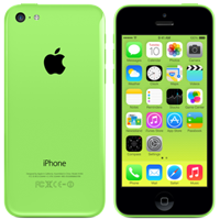 Used as Demo Apple iPhone 5c 16GB LTE 4G Green (6 month warranty)