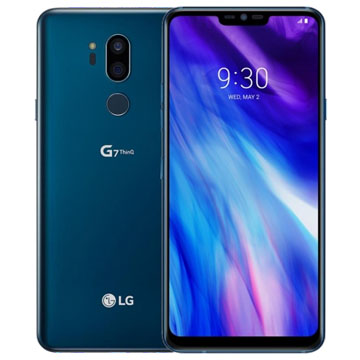 New LG G7+ ThinQ Dual SIM 16MP 128GB 4G LTE Smartphone Blue