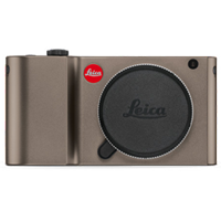 New Leica TL 16MP Body Mirrorless Digital Camera Titanium