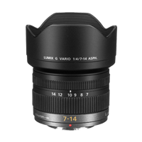 New Panasonic LUMIX G VARIO 7-14mm f/4.0 ASPH Lens