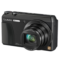 Panasonic Lumix DMC-TZ55 16MP Digital Camera Black (PRIORITY DELIVERY + FREE ACCESSORY)