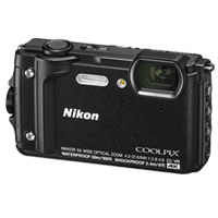 New Nikon Coolpix W300 16MP Digital Camera Black