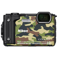 New Nikon Coolpix W300 16MP Digital Camera Camo