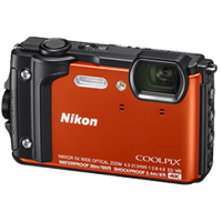 New Nikon Coolpix W300 16MP Digital Camera Orange