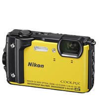 New Nikon Coolpix W300 16MP Digital Camera Yellow