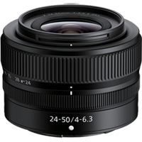 New Nikon NIKKOR Z 24-50mm F4-6.3 Lens