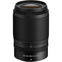 New Nikon NIKKOR Z DX 50-250mm f/4.5-6.3 VR Lens