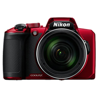New Nikon Coolpix B600 16MP Digital Camera Red