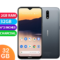 New Nokia 2.3 32GB 2GB RAM 4G LTE Smartphone Charcoal