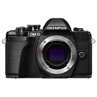 New Olympus OM-D E-M10 MK III (Body) Kit Digital Cameras Black