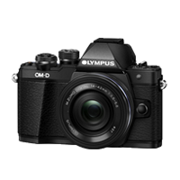 New Olympus OM-D E-M10 Mark II (14-42 EZ) Digital Camera Black