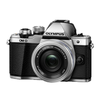 New Olympus OM-D E-M10 Mark II (14-42 EZ) Digital Camera Silver