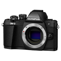 New Olympus OM-D E-M10 MK II (Body) Kit Digital Cameras Black
