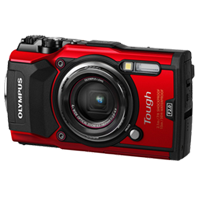 New Olympus TOUGH TG-5 12MP Digital Camera Red