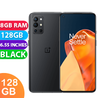 New Oneplus 9R Dual SIM 5G 8GB RAM 128GB Carbon Black