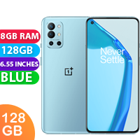 New Oneplus 9R Dual SIM 5G 8GB RAM 128GB Lake Blue