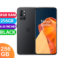 New Oneplus 9R Dual SIM 5G 8GB RAM 256GB Carbon Black