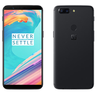 New OnePlus 5T Dual Sim 128GB 16MP 4G LTE Smartphone Black