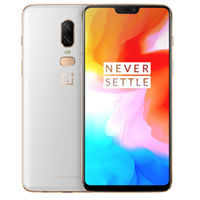 New OnePlus 6 A6003 Dual Sim 128GB 16MP 4G LTE Smartphone Silk White