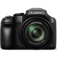 New Panasonic LUMIX DMC-FZ80 18MP Digital Camera Black