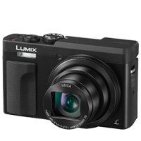 New Panasonic LUMIX DMC-ZS70 20MP Digital Camera Black