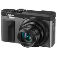 New Panasonic LUMIX DMC-ZS70 20MP Digital Camera Silver
