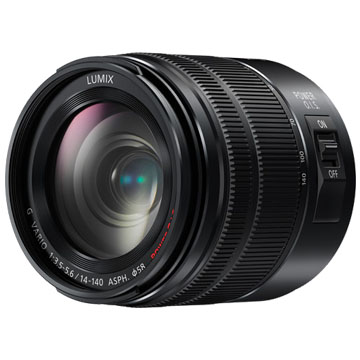 New Panasonic G VARIO 14-140mm F3.5-5.6 MK II Lens Black