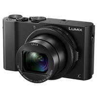 New Panasonic LUMIX DMC-LX10 20MP Digital Camera Black
