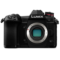 New Panasonic Lumix DMC-G9 20MP Body Digital Camera Black