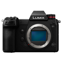 New Panasonic LUMIX DC-S1 24MP Digital SLR Camera Body